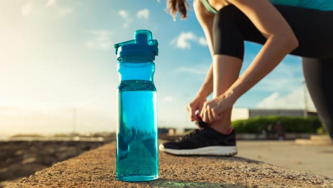 You can create new habits, like drinking more water, by taking tiny steps in the right direction that lead to new habits.