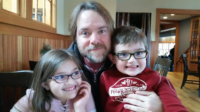 Lara Dargenio, a fourth grader at Rye Elementary School, says the prime rib poutine and the grilled chicken Caesar wrap at York River Landing are well worth the trip. She is pictured here with her dad and brother on a recent visit.