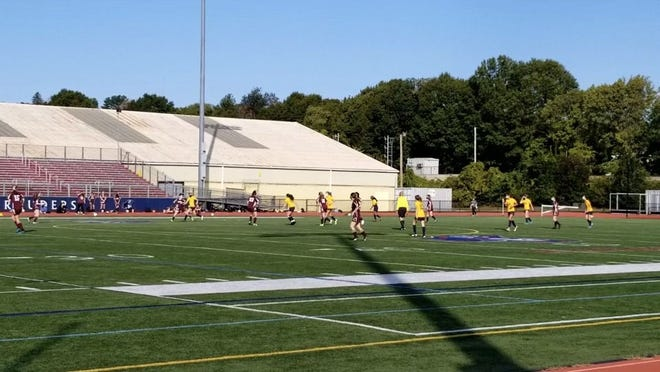 Belmont girl's junior varsity soccer team came away with a 2-1 win over Reading Memorial High School.