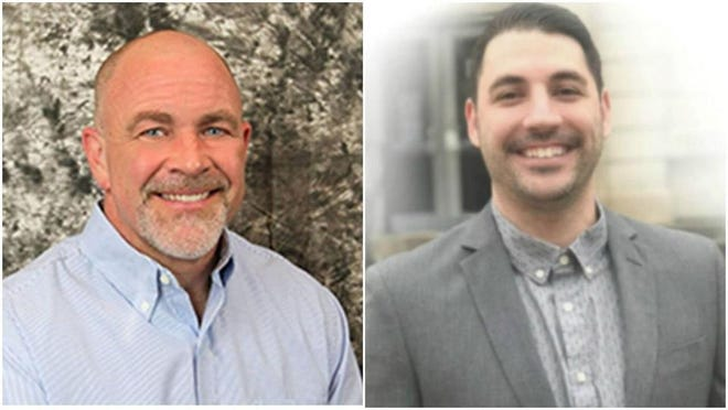 Mark Luft, left, and Josh Grys