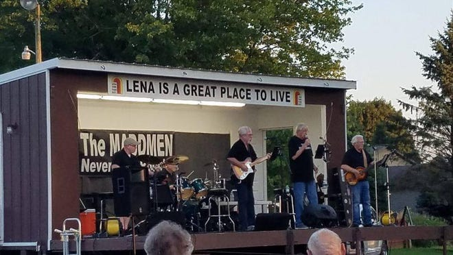 The MADDMEN will perform their 1950-'60s versions of rock 'n' roll from 2 to 4 p.m. Oct 17 at Lion's Park, 609 N. Schuyler St., Lena. Pictured: The MADDMEN.