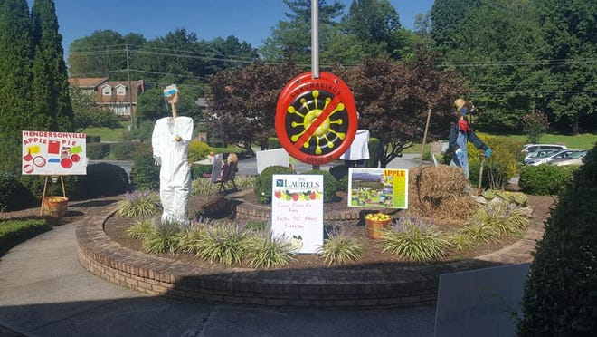The Judges Choice Winner went to the Laurels of Hendersonville in the annual N.C. Apple Festival Window/Display Contest.