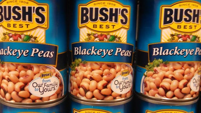 Black-eyed peas are well-known for being a New Year's Day meal for those superstitious — and not-so-superstitious.