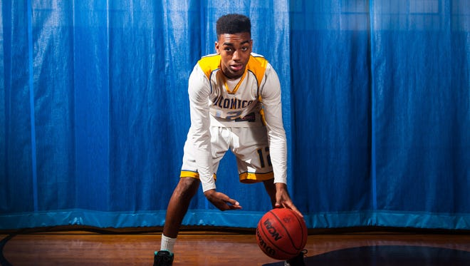 Wicomico High junior guard Torrey Brittingham was named Bayside South Player of the Year after an outstanding season, leading the Indians to a Bayside and 2A East title.