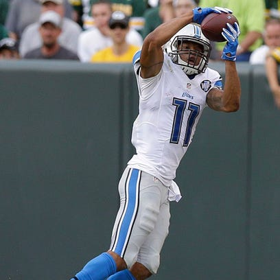 Marvin Jones leads the Lions in receptions and receiving yards through the first three weeks.