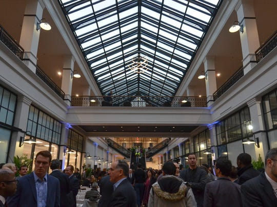 The former Newark landmark, Hahne's department store, has been reborn as a mixed-use community center adjacent to the Rutgers Arts campus in Newark. It has a bookstore, restaurant by celebrity chef Marcus Samuelsson,  apartments and Whole Foods.