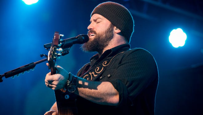 Zac Brown Band performs at US Bank Arena to a sold out crowd on Dec. 30, 2012.