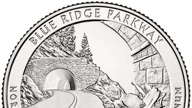 The new Blue Ridge Parkway quarter will soon be released by the U.S. Mint.