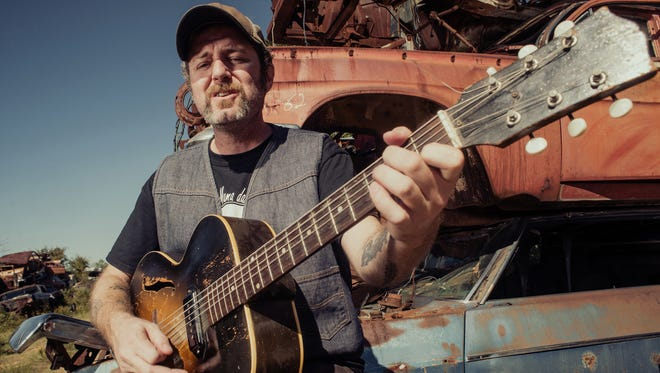 """Scott H. Biram is on the road in support of his 2014 album """"Nothin' But Blood."""""""