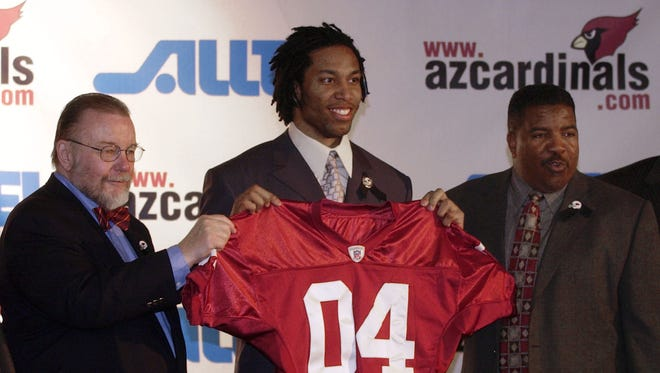 The Cardinals hit a home run when they drafted Larry FItzgerald.