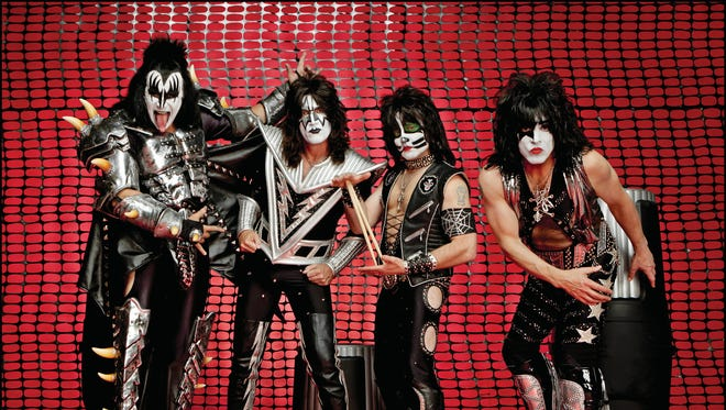 "The iconic rock band KISS' concert documentary ""KISS Rocks Vegas"" will be screened May 25 at Cinemark Tinseltown, 11855 Gateway West."