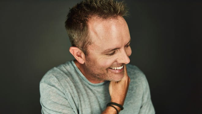 Chris Tomlin, the biggest name in Christian music, appears at the Redding Civic Auditorium on Sunday.