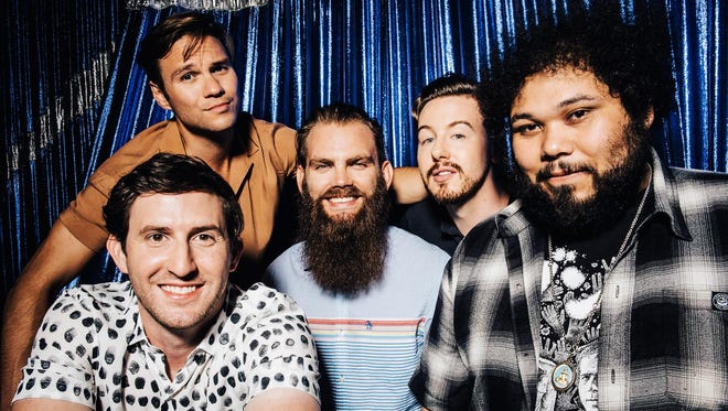 Dance Gavin Dance's tunes are typically brooding, muscular and intense — but catchy.