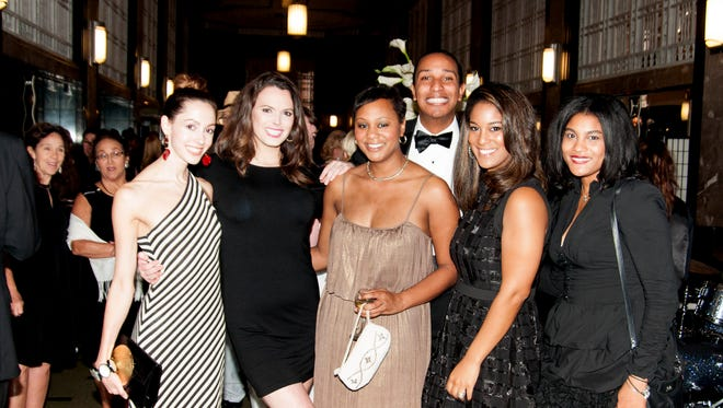 """Guests at a previous """"An Art Deco Affair"""" event at the Frist Center for the Visual Arts."""