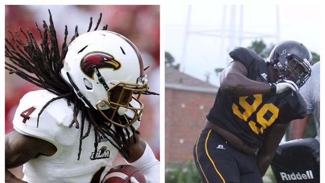 Hunter (ULM) and Winston (UL Lafayette, Grambling) played collegiately before becoming assistant coaches at Richwood.