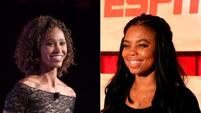 Sage Steele spoke about Jemele Hill's use of social media
