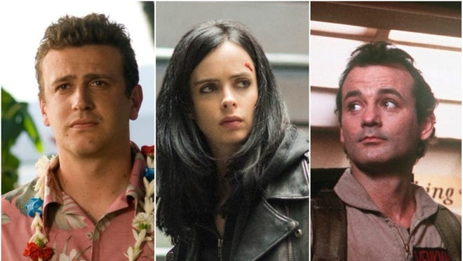 'Forgetting Sarah Marshall,' a new season of 'Jessica Jones' and 'Ghostbusters' will all be available on Netflix in March.