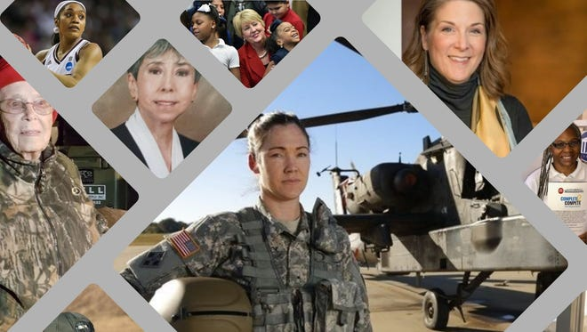These are just a few of the Mississippi women the Clarion Ledger is proud to highlight for National Women's History Month.