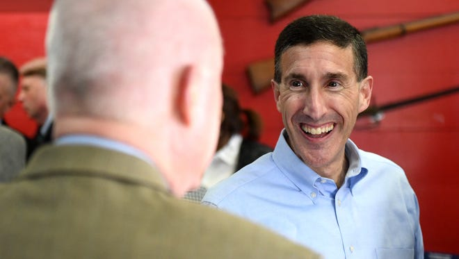 Congressman David Kustoff stopped in Madison County during his re-election campaign tour, Wednesday, April 4.