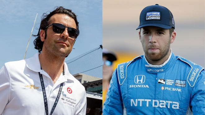 Dario Franchitti has played a big role in helping Ed Jones blossom into an IndyCar star.