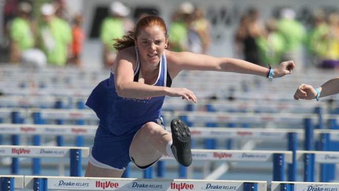 BGM sophomore Marian Coover placed fifth in the Class 1A 100-meter hurdles.