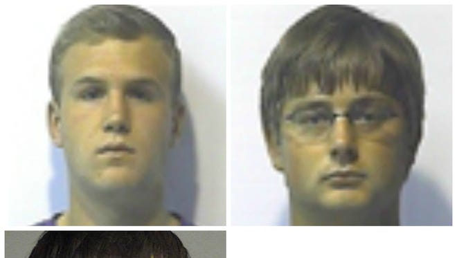 Tyler Perry, left top; Dayton Jones, right top; Sam Miller