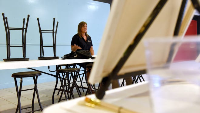Owner Ginny Brown talks about the opening of her new Wine and Canvas business located at 1155 Newark Road in Zanesville. Cost of the class is $35 and includes a canvas, paints, brushes and step-by-step instructions. Beer and liqour are also available at the parties.