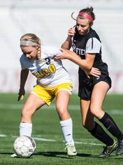 Elco's Taylor Bossert looks to lead her team as the