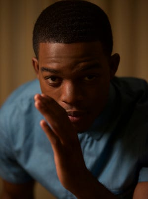 "Stephan James stars as Olympic legend Jesse Owens in ""Race."""