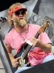 Anders Osborne will perform at the Peach Music Festival,
