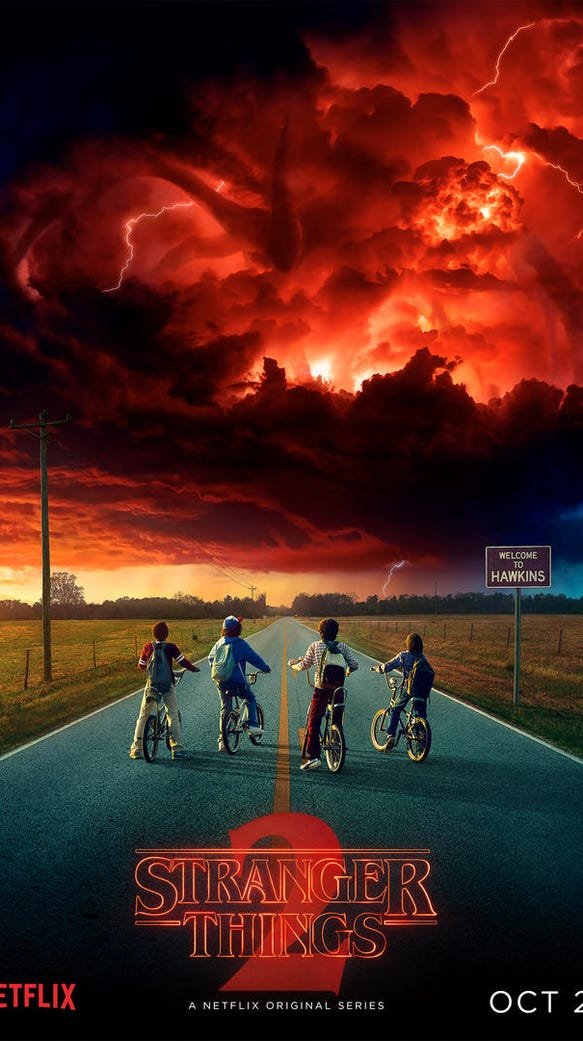 The first official poster for 'Stranger Things' Season