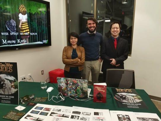 Guam-raised Cherisse Datu (left) is a game designer