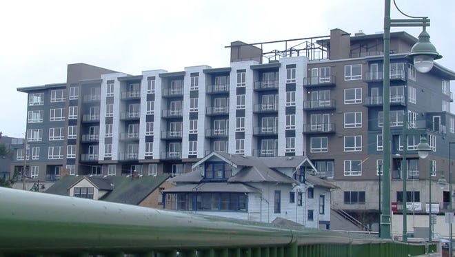 The Spyglass Hill apartments.