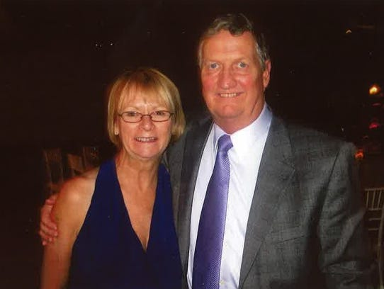 Kevin McManus and his wife, Maureen McManus, were married