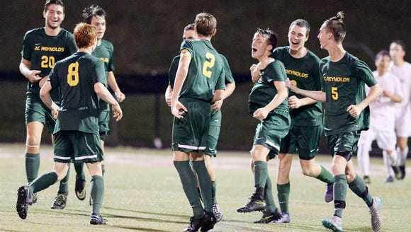 The Reynolds soccer team has earned a No. 1 seed entering the NCHSAA soccer playoffs.