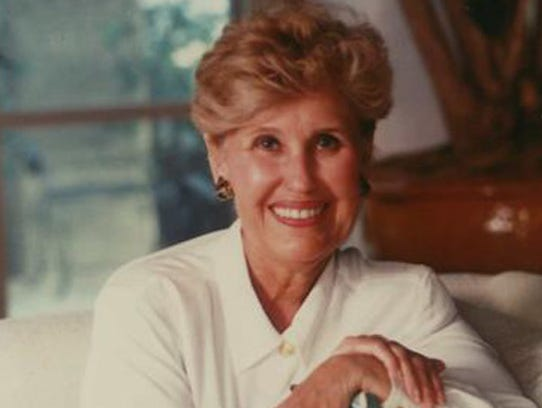 "Columnist Erma Bombeck, author of ""I Want To Grow Hair,"