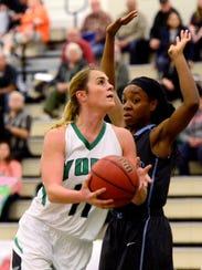 York College's Morgan Kuehne has been named to the