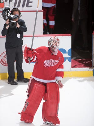 Detroit goalie Jimmy Howard has a .943 save percentage, which is fourth-best in the league.
