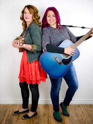Cherie Call, of Spanish Fork, and Lyndy Butler, of Hurricane, recently won an award in the Children's category of international John Lennon Songwriting Contest.