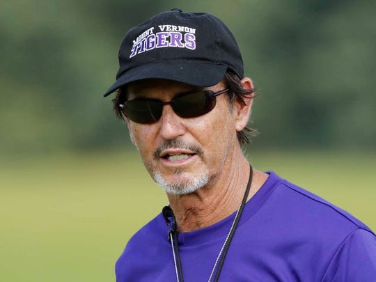 Former Baylor coach Art Briles returned to coaching Texas High School Football this season at Mount Vernon in East Texas.