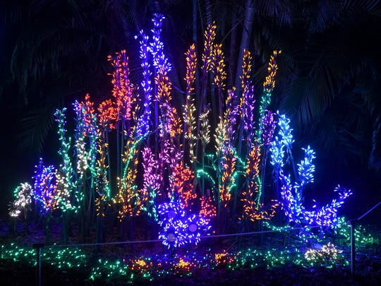 Heathcote's Garden of Lights kicks off this weekend at Heathcote Botanical Gardens in Fort Pierce. It lasts from 5:30-9 p.m. every Friday and Saturday through Dec. 29.