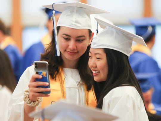 Pelham Memorial High School holds their graduation ceremony on Saturday, June 23, 2018.