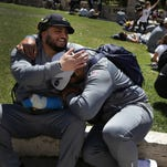 Harbaugh picks Muslim player to possibly meet Pope Francis at Vatican