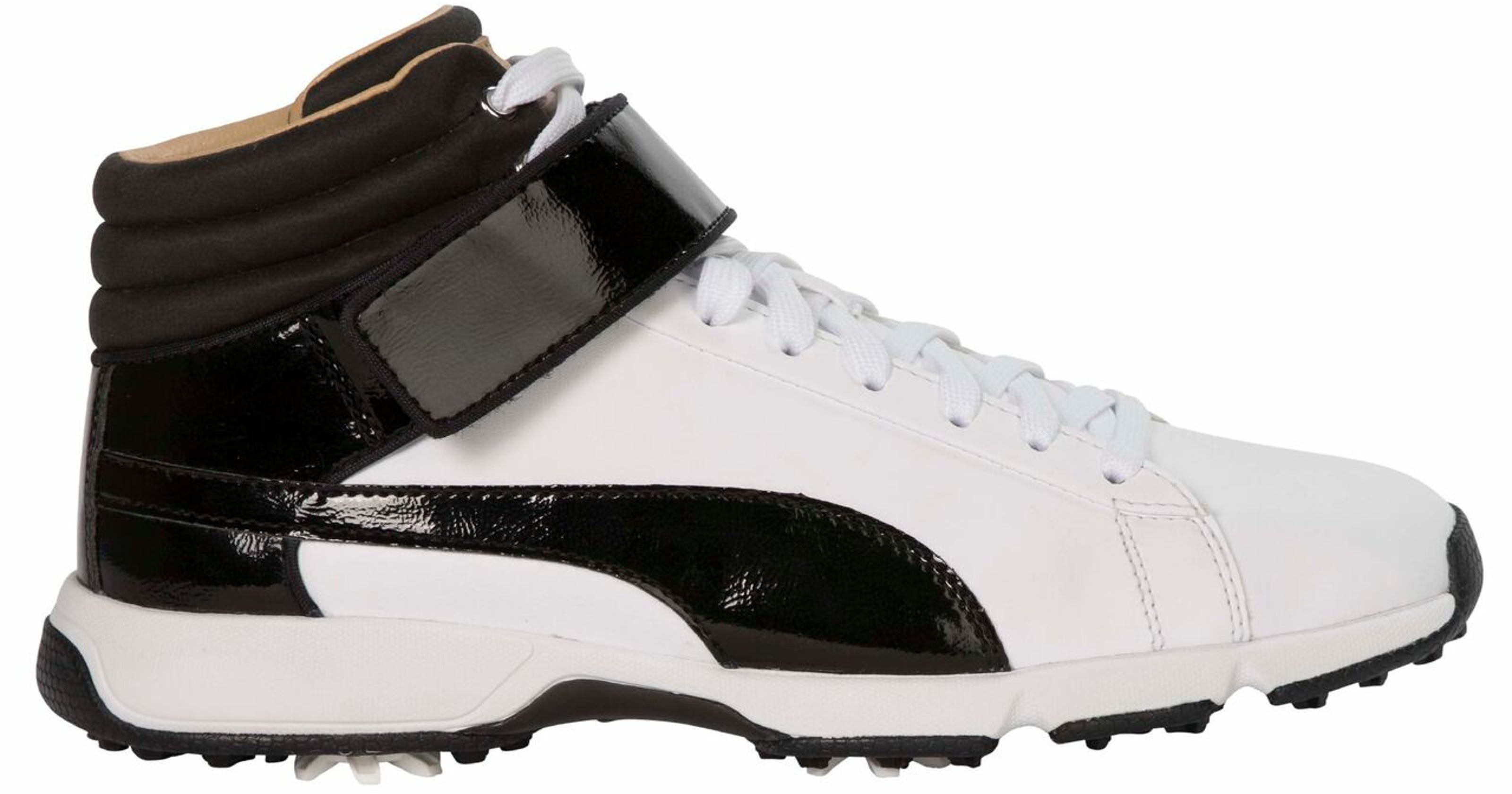 785f8277fdd9 Golf Gear  Puma high-top golf shoes designed for juniors