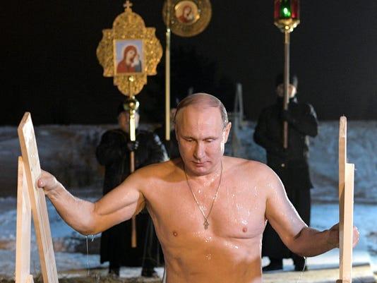 AP RUSSIA ORTHODOX EPIPHANY I RUS