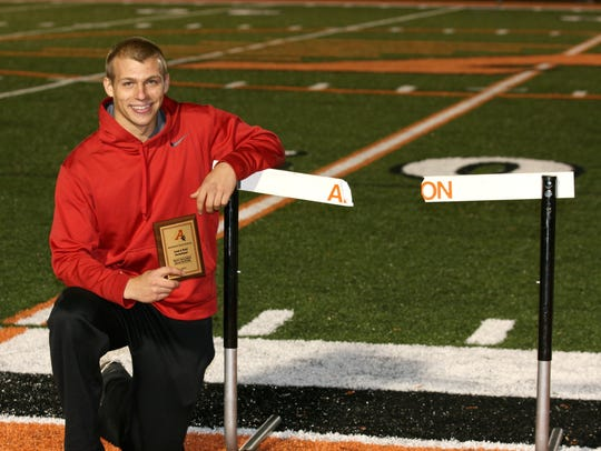 Bethel-Tate's Erik Shinkle is now a junior at the U.S.