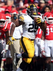 LeShun Daniels had a 75-yard touchdown run pulled back
