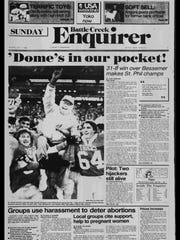 BC Sports History: Week of Nov. 26, 1985