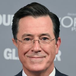 A record 2.5 million tuned in for the finale of 'The Colbert Report.' We're not sure if that includes all the people on the stage.