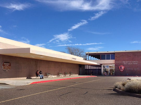 The visitors center at Petrified Forest National Park was named a national landmark by the federal government.